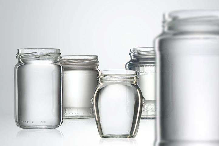 Glass jars for canning