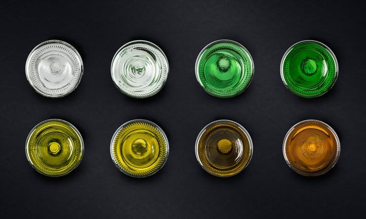 Glass colours