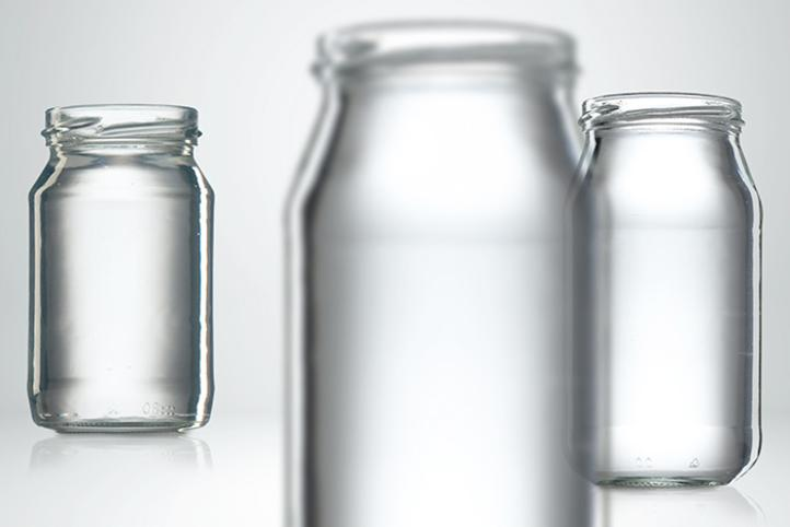 Glass bottles and containers for sauces